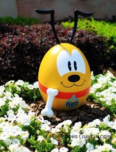 cute pluto easter eggs disney easter egg decorating ideas holiday kids party ideas