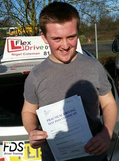 Driving Lessons in Earls Barton and Kettering :  Congratulations to Kyle Draper who passed his practical Driving Test 1st time today the 2nd February 2016. Very well done and best wishes from your Driving Instructor Nigel and all of us here at Flexdrive Driving School.  Kyle had driving lessons in Earls Barton and Kettering with Flexdrive Driving School. #drivinglessons #learntodrive #kettering