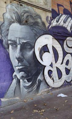 Los creativos son ellos . . .  by Kaplota: Alguién sabe dónde está este graffiti?