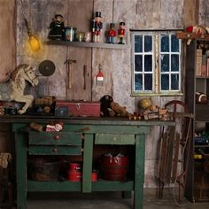 Santa's Workshop 2 - 8x8-