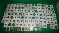 Huge World Coin Lot 110 Coins All Assorted Denominations Currency Countries  find me at www.dandeepop.com