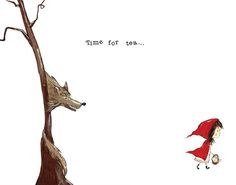 red riding hood illustration - Google Search