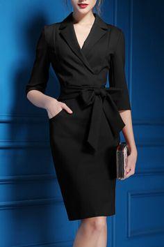 Hannou - Brenda Dress in Black $49.99