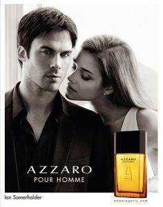 Trend Flakes: Perfume // Ian Somerhalder for Azzaro