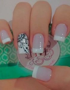 Wedding Acrylic Nails, Simple Acrylic Nails, Best Acrylic Nails, Pastel Nails, Nails To Go, Fancy Nails, Trendy Nails, Nail Manicure, Gel Nails