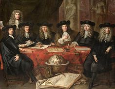 Jan de Baen (1682). Governors of the Hoorn Chamber of the VOC.