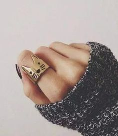 Love cat ring,cat ring,kitty ring,elephant ring,animal ring,cute ring,bridesmaid gift,men's rings,unique ring,men ring,couple ring,usadr23