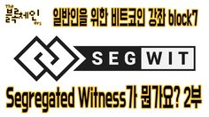 Segregated Witness가 뭔가요? 2부 | 일반인을 위한 비트코인 강좌 block7