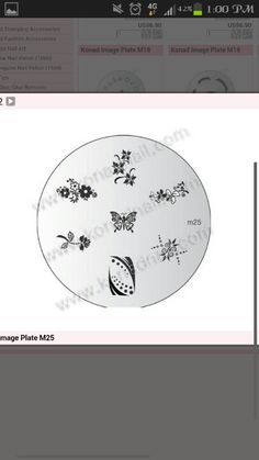 KONAD nail design plate, I really want this one! So many possibilities!
