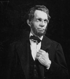 """Historical People in the Movies: Abraham Lincoln acted by Raymond Massey """"Abe Lincoln In Illinois"""" Raymond Massey, Abraham Lincoln, Illinois, Actors & Actresses, People, Movies, Films, Cinema, Movie"""