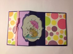 Spring card with bunny (inside)