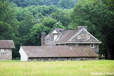 Andrew Wyeth's Home. Had no idea my favorite American painter lived in a stone house like this.