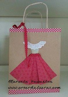 Resultado de imagen de bolsas de regalo decoradas