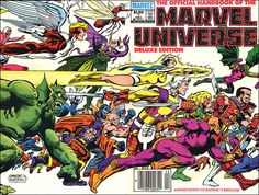 The Official Handbook Of the Marvel  Universe Deluxe Edition #1