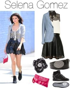 """""""Selena Gomez style steal"""" by samantha-dutton on Polyvore"""