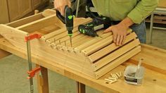 Complete Plans And Video Show You How To Build A Classic Adirondack Chair This Project