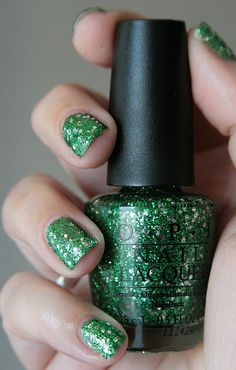 "OPI - Holiday 2011 Muppets Collection: ""Fresh Frog of Bel Air"" (Nail Glitter) 