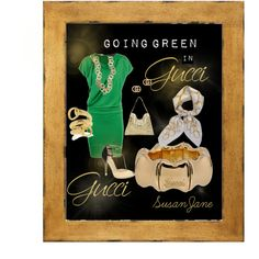 Going Green in Gucci, created by susan-lawrence-garcia