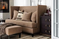 Love Seat, Entryway, Lounge, Couch, Throw Pillows, Living Room, Bed, Inspiration, Furnitures
