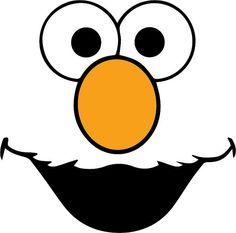 7 Best Images of Sesame Street Face Templates Printable - Sesame ...