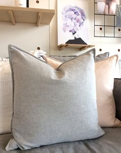 Are you looking to buy new cushions? Visit us online or in store today to find a great collection of designer linen, leather and velvet cushions. Shop now! Dining Nook, Velvet Cushions, Shop Now, Throw Pillows, Bed, Interior, Leather, Stuff To Buy, Home