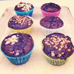 Erdnussbutter Muffins - inspiration4fitness