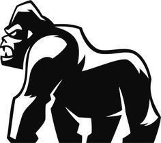 Agressiva Gorila design