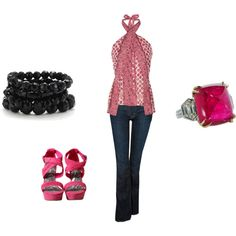 GNO! Need this outfit and Girls Night Out soon! created by ahguthrie.polyvor...