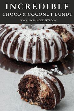 Pumpkin Bundt Cake, Chocolate Bundt Cake, Chocolate Flavors, Cupcake Recipes, Cupcake Cakes, Cupcakes, Brownie Cake, Brownies, Snack Cakes
