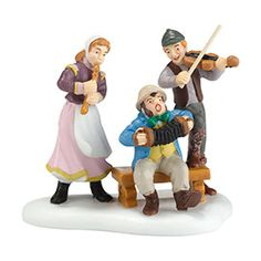"""Department 56: Products - """"A Jolly Good Tune"""" - Dickens' Village Series"""