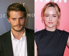 Jamie Dornan and Dakota Johnson are our new Christian & Ana. I like this pair a lot better, I must say.