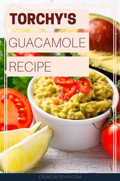 Torchy's guacamole recipe is creamy and flavorful, but hard to find-- until now. I've cracked the code to make your own Torchy's guac at home!