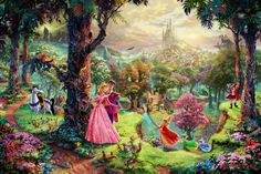 Sleeping Beauty - ThomasKinkade.com