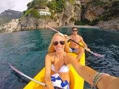 Kayaking in Positano, Italy is the absolute epitome of a naturally beautiful cliff side city by the sea with truly amazing people, and some of the most delicious food one can find in all of Italy.  Rent a kayak by the hour from the main dock and spend your day exploring hidden beaches and enjoying the breathtaking coastal views…castles included!