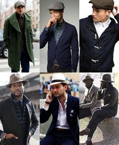 Mens Hats / Headwear Lookbook love the hats but its the style ... the style man. (/ ) awesome