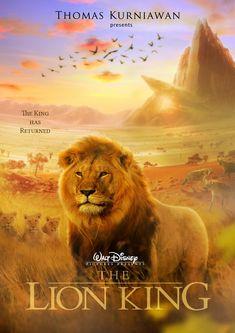 """Thomas Kurniawan's Portfolio: Disney Movie Poster Artwork """"The Lion King"""""""