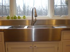 Kitchen Stainless Steel Farmhouse Sink Sinks Pertaining To Proportions 1500 X With Drainboard