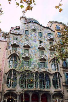 La casa Batlló à Barcelone
