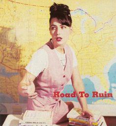 "little-trouble-grrrl: ""Kathleen Hanna in CMJ New Music Monthly Dec 1998 "" Kathleen Hanna, Bikini Kill, Riot Grrrl, Just Style, Miss World, Music Bands, New Music, Girl Power, Punk"