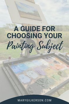 Painters and artists, stop struggling to pick out a painting subject. Move past these barriers and begin creating with these helpful artist tips. Save this pin and click through to be inspired!