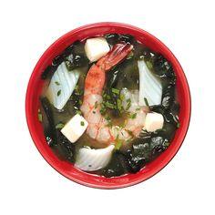 Spicy miso z owocami morza Sashimi, Spicy, Menu, Soup, Ethnic Recipes, Menu Board Design, Soups, Menu Cards