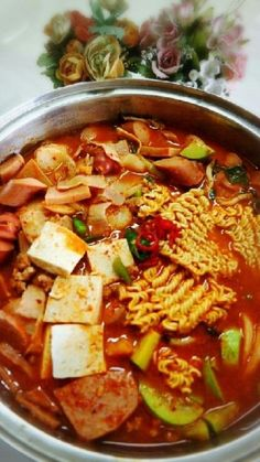 Korean Side Dishes, Cooking On The Grill, Easy Cooking, Cooking Recipes, Spicy Recipes, Asian Recipes, Ethnic Recipes, Food Design, I Want Food