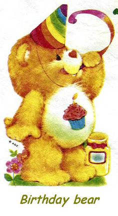 Care Bears Birthday Bear