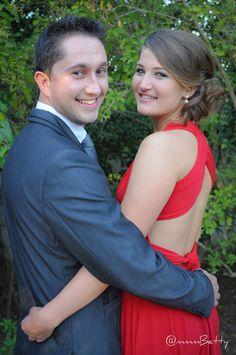 #Matric #dance #Photo #Shoot #Makeup #dress #red #pretty #couple