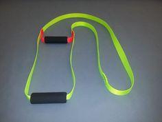 SOT Kayak Self Rescue Ladder - Hi Viz Yellow & Orange Webbing Sav-A-Jake #SavAJake