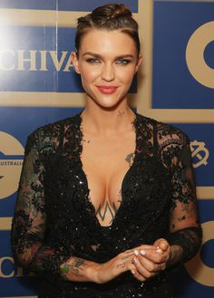 No, It's Not Hot in Here, It's Just Ruby Rose — See Her Sexiest Pictures