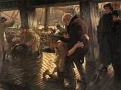 The Prodigal Son in Modern Life: The Return (1882) - James Tissot (1836-1902)