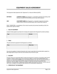 Distribution Agreement Template   Free Word Pdf Documents