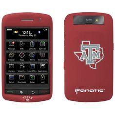 Texas A&M Aggies Maroon BlackBerry Storm Silicone Case - $7.99