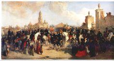 Entrée de l'armée française dans Mexico